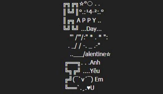 Tin nhan chuc Valentine 14/2 dep va lang man nhat