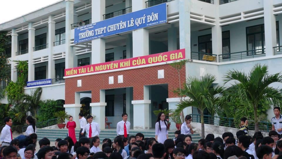 Tuyen sinh vao lop 10 THPT chuyen Le Quy Don - Ninh Thuan 2016
