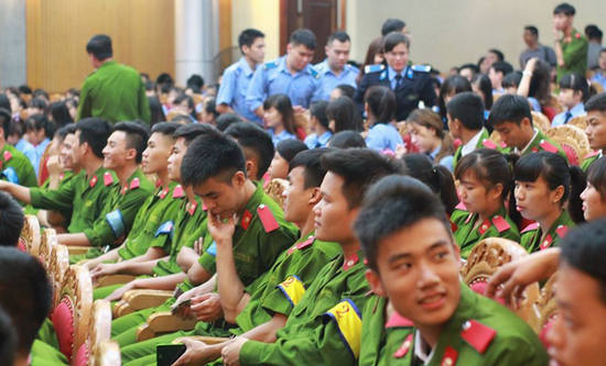 Du kien diem chuan vao cac truong CAND nam 2016