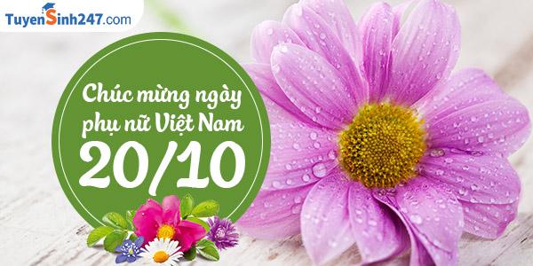 Nhung mau thiep chuc mung ngay phu nu Viet Nam 20/10 dep nhat