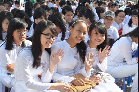 Hoc sinh Da Nang duoc nghi Tet 8 ngay