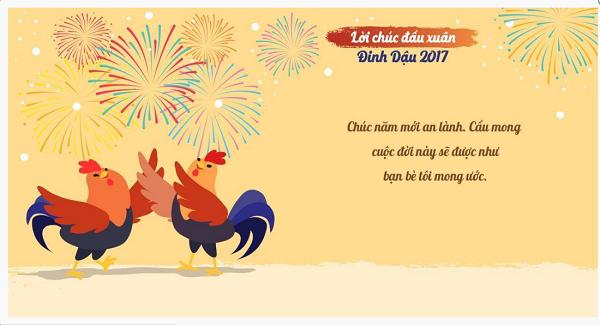 99 Loi chuc tet 2017 hay duoc ua thich nhat nam Dinh Dau