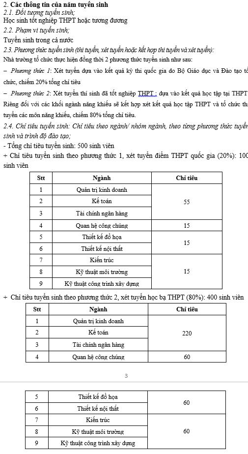 Tuyển Sinh ĐH Nguyễn Trãi 2017