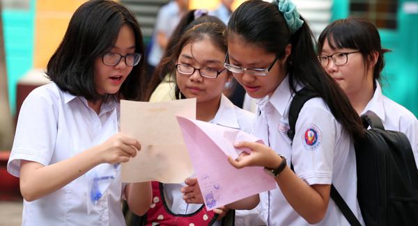 Thanh Hoa cong bo mon thi thu ba vao lop 10 nam 2017
