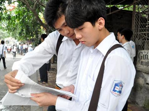 Dap an de thi tot nghiep THPT he chuan va nang cao nam 2011 - mon  tieng nga