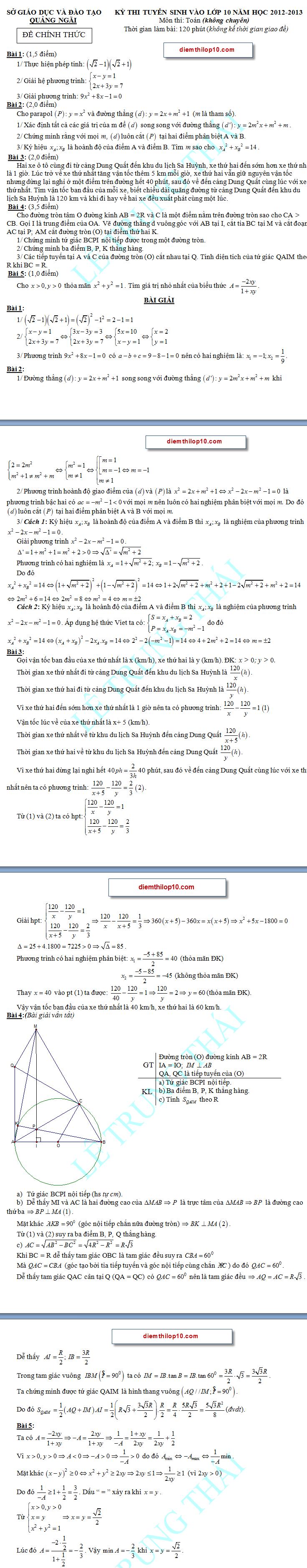 Điểm thi lớp 10 năm 2012 7c5a98989937861dedb07c6e5ca60e20 46609017.quangngai Đáp án đề thi môn toán lớp 10 QUẢNG NGÃI năm 2012
