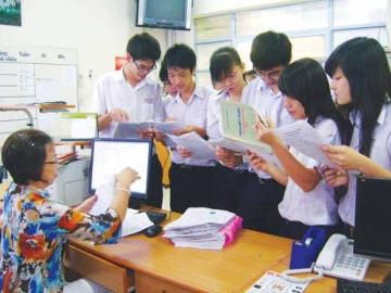 Điểm chuẩn NV2 Trường Đại học Công nghiệp TPHCM năm 2012