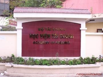 Tuyến sinh cao học 2013 Học viện tài chính
