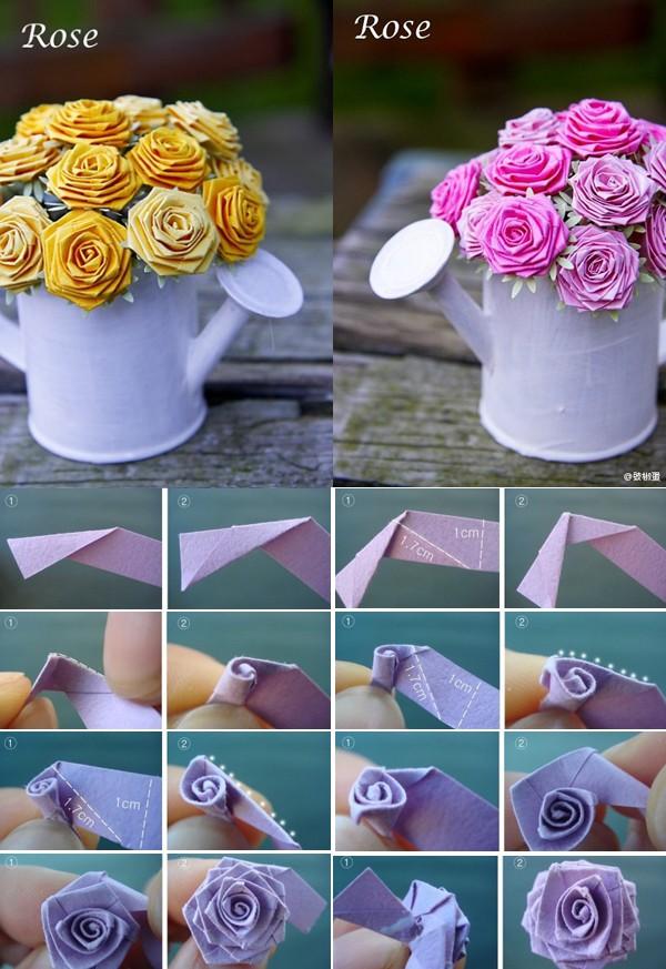 SMS Brand name cach lam hoa giay 2011 handmade cuc lung linh 2 Cách làm hoa giấy 20/11 handmade cực lung linh