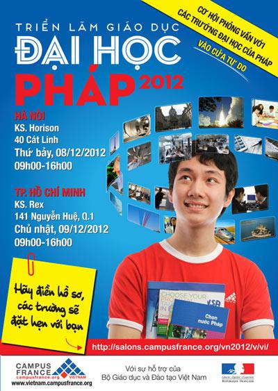 Triển lãm Giáo dục Đại học Pháp 2012, Giáo dục - du học,