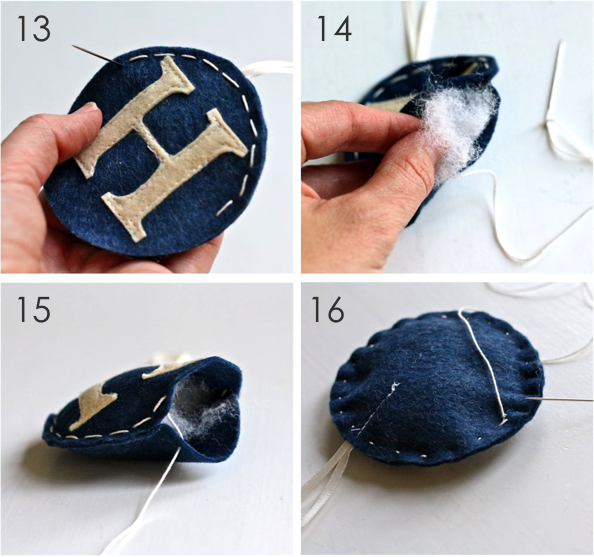 Cach lam 2 mon do trang tri giang sinh handmade cuc yeu (P1)