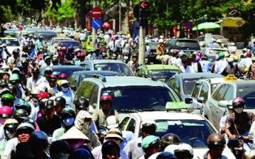Nộp phí đường bộ xe máy ô tô ở đâu?