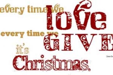 SMS kute chúc mừng giáng sinh 2013 cực đẹp