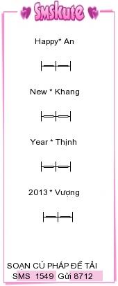 Tin nhan hinh chuc tet 2013 dep nhat