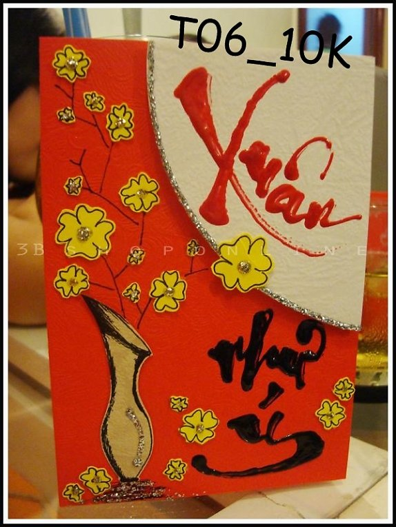Loi chuc hay nhat 1320263093 bang.vn thiep tet handmade 12972660091780880328 574 0 Cách làm thiệp tết Handmade