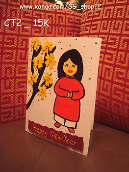 Loi chuc hay nhat 1320263090 bang.vn thiep tet handmade 12955150391934394776 574 0 Cách làm thiệp tết Handmade