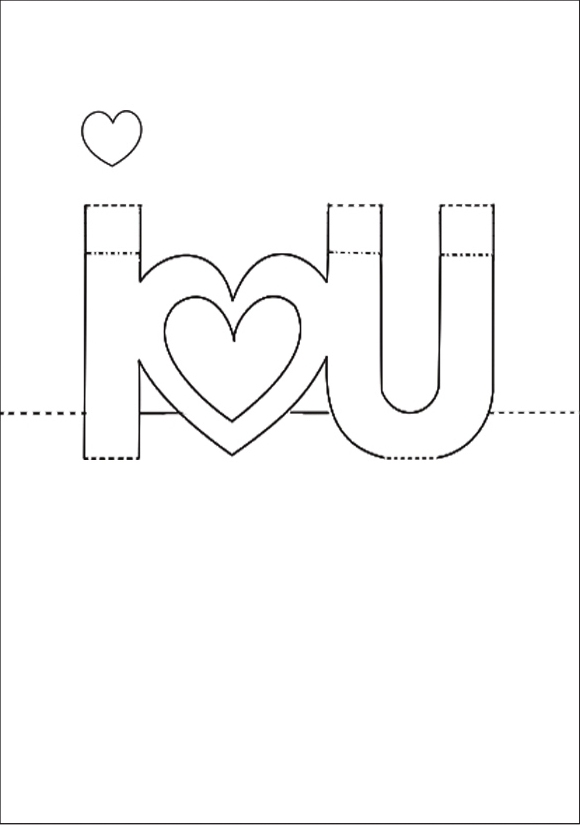 Loi chuc hay nhat thiep2 Cách làm thiệp 3D   I love you