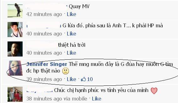 Hương Giang đã trả lời người hâm mộ sau khi thấy nhiều người tỏ ý nghi ngờ