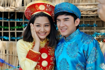 Đám cưới 'rình rang' của Đan Trường và hot girl Miu Lê