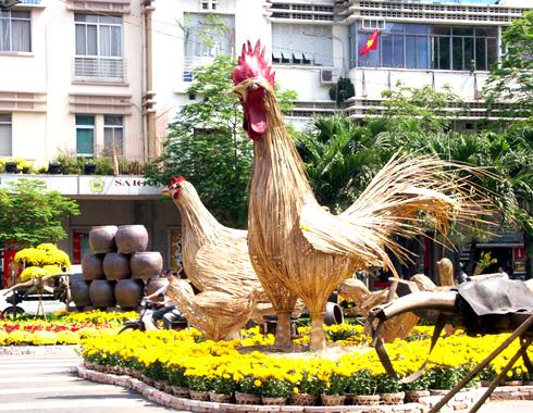 Duong hoa Nguyen Hue 2013: Ky niem 10 nam mot net van hoa Tet cua Sai Gon