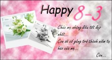 Những lời chúc 8-3 hay nhất dành tặng mẹ