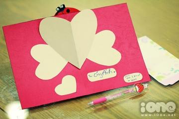 Thiệp Valentine tự làm đẹp (handmade, popup)