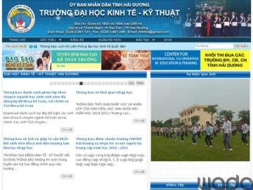 Trường Đại học Kinh tế - Kỹ thuật Hải Dương có tên mới