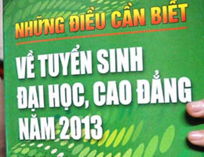 Cuon Nhung dieu can biet ve tuyen sinh nam 2014 se khong con \