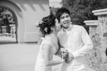 Lộ ảnh cưới đáng yêu của cặp đôi Đan Trường - Thủy Tiên