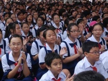 Tuyển sinh đầu cấp tại quận Tân Bình, TP.HCM năm 2013