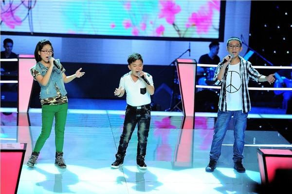 giong hat viet nhi vu song vu Giọng hát việt nhí vòng đối đầu tập 1 ngày 6/7/2013