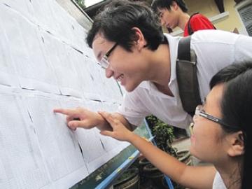 Chính thức công bố điểm sàn đại học, cao đẳng năm 2013