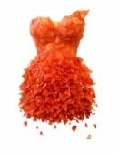 Những chiếc váy độc đáo được làm từ hoa quả