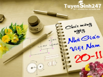 Lời chúc 20/11 hay và tin nhắn 20/11 ý nghĩa tặng thầy cô