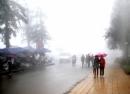 Không khí lạnh tăng cường gây mưa rét tại Miền Bắc