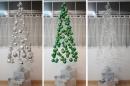 Hướng dẫn làm cây thông Noel đẹp lung linh từ quả cầu tuyết