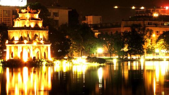 hồ gươm Noel ở Hà Nội