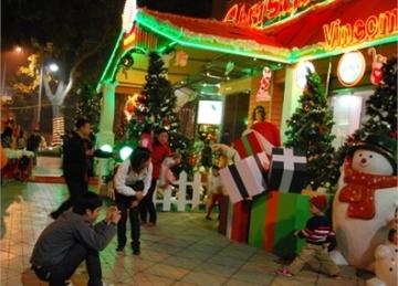 Những địa điểm vui chơi giáng sinh tại TPHCM