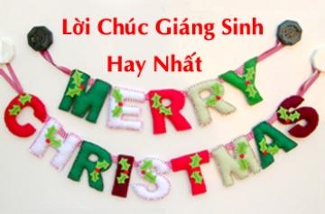 Lời chúc giáng sinh, Lời chúc Noel hay nhất