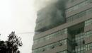 Đại học ngoại thương Hà Nội bị cháy