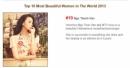 Ngô Thanh Vân lọt top 10 người đẹp nhất thế giới