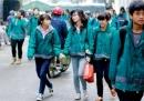 Thời tiết rét đậm học sinh không phải mặc đồng phục