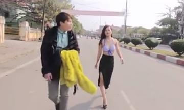 Nữ sinh Thái Nguyên đóng clip \
