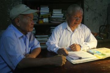 Ba cụ sinh viên già nhất Việt Nam: Học nhóm ở tuổi 80