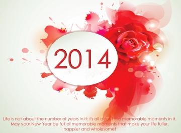 Hình nền tết 2014, thiệp tết chúc mừng năm mới 2014 đơn giản và ấn tượng nhất