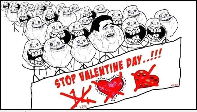 Loạt ảnh chế siêu độc và hài hước về ngày lễ tình yêu Valentine
