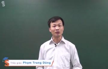 Thầy Phạm Trung Dũng chia sẻ bí quyết làm bài thi Vật Lý 2014