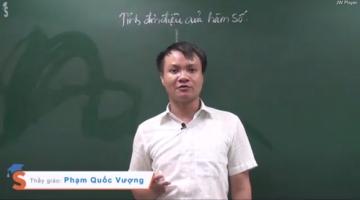 Thầy Phạm Quốc Vượng chia sẻ kinh nghiệm làm bài thi môn Toán