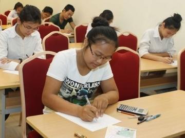 Đề thi học kì 2 lớp 12 môn Toán năm 2014 - THPT Trần Nhân Tông
