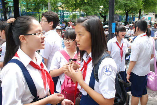 Lịch thi vào lớp 10 tỉnh Ninh Bình năm 2014